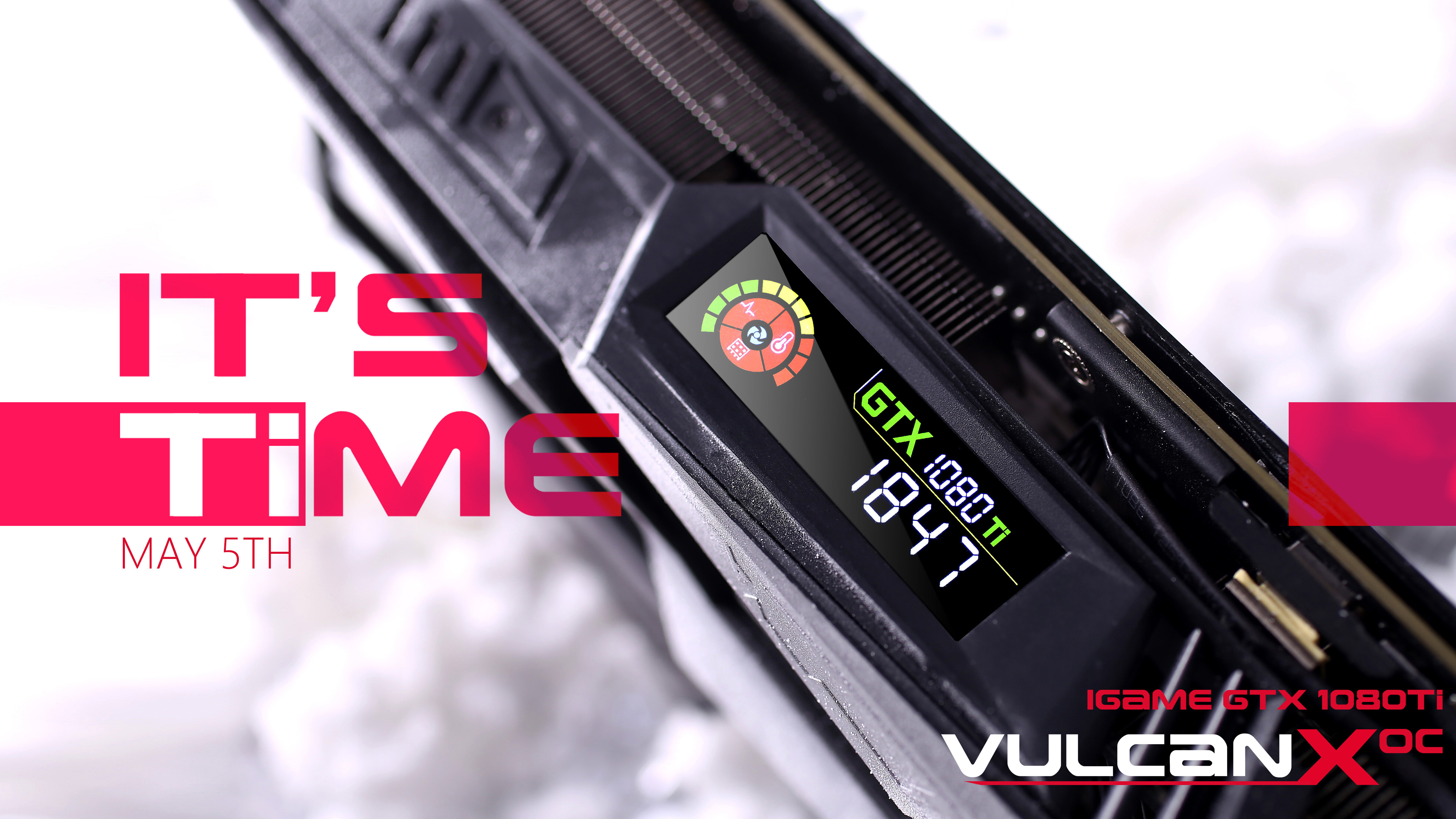 It`s Time!iGame1080Ti X OC正式发售